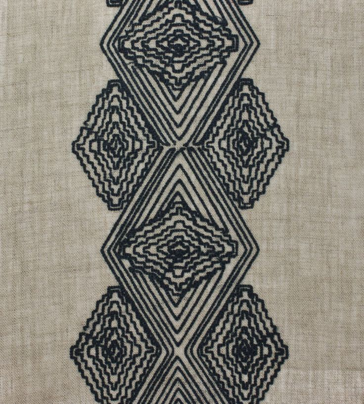 Interior Trends, Tribal | Morena Fabric by Casamance | Jane Clayton