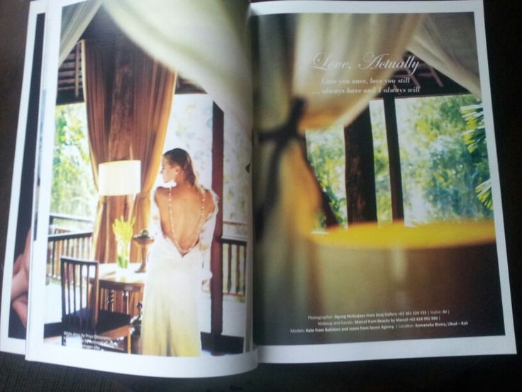 Wedding fashion shoot maxx-brides at bisma residence 3bedrooms pool villa