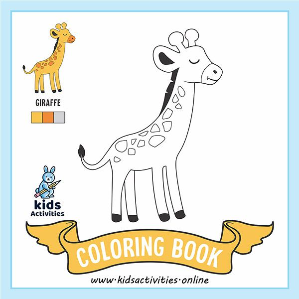 Free Cute Animals Coloring Pages Printable Pdf Kids Activities Animal Coloring Books Animal Coloring Pages Animal Book