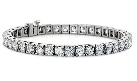 9.00 ct Ladies Round Cut Diamond Tennis Bracelet in 14 kt White Gold Madina Jewelry. $10999.00. Availble in Yellow Gold. Wholesale Price. Buy It Now. Lifetime Warranty. High Quality Diamonds. Save 67% Off!
