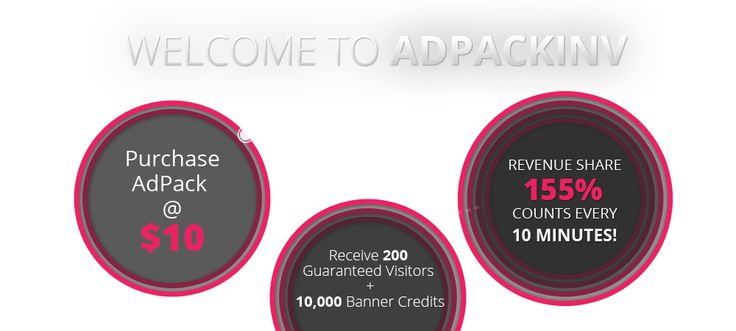 ADpackInv.com - Stable earnings with profits!