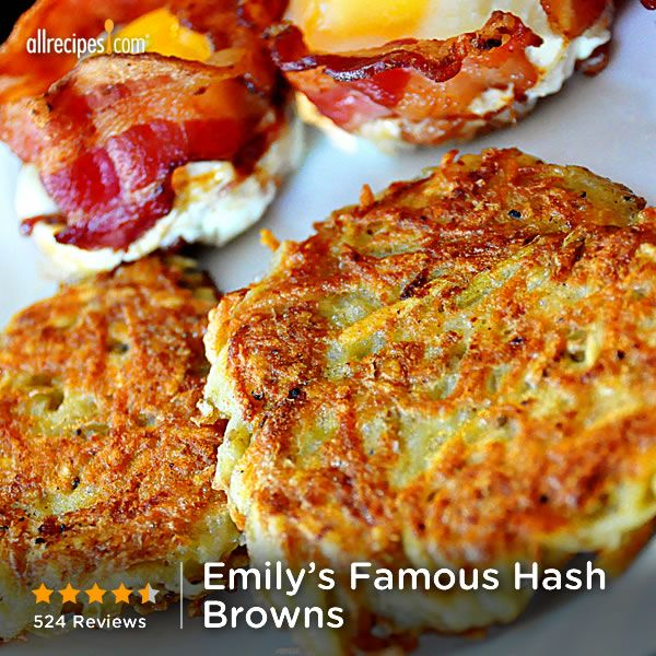 """Emily's Famous Hash Browns   """"Literally the best hash browns I have had in my life."""""""