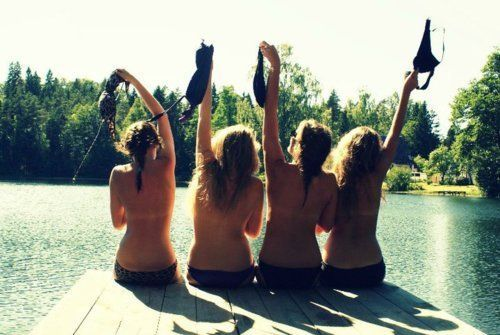 There are things you need, and things you don't. Friends are one. Bikini tops are the other.    @Rachel Byam @Rachel Moore @Vanessa Reichelt @Elsa Millett @Stephanie Vacek @Esther Moore @Elise Prairie @Deanna Shippee  !!!! hahahha