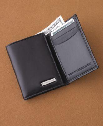 Tommy Hilfiger Wallet, Leather Trifold Wallet - Mens Men's Wallets - Macy's