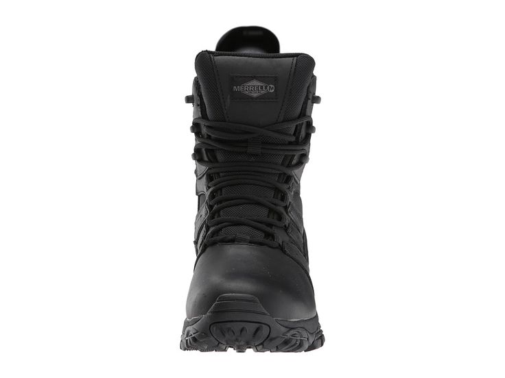 Merrell Work Moab 2 8 Tactical Response Waterproof Women's Lace-up Boots Black