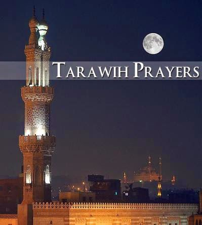 Shalat tarawih saat umroh Ramadhan 2015