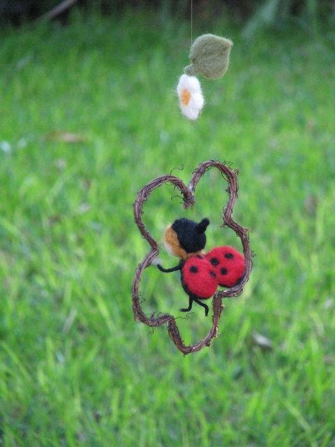 lady bug mobile