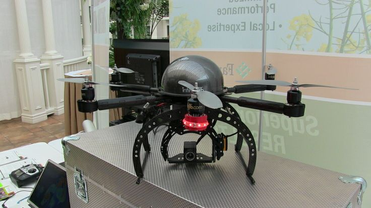 infinitejib at the Precision Agriculture Conference 2014