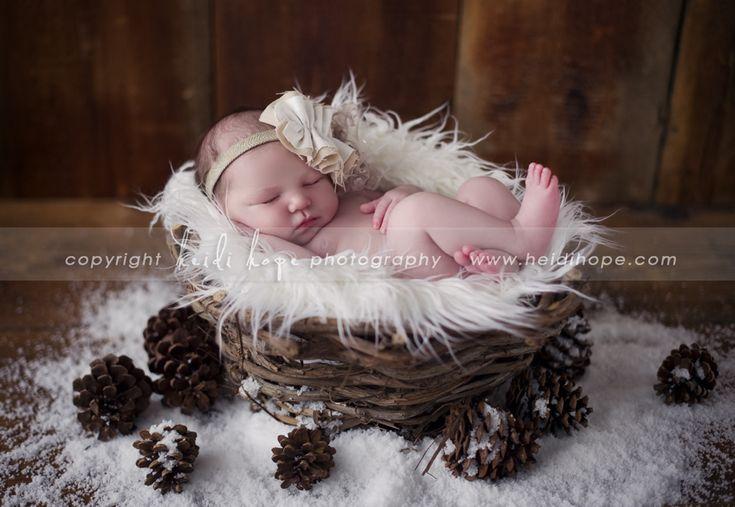 winter baby © Heidi Hope Photography