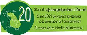 GRAIN — 20 ans de soja transgénique dans le Cône sud de l'Amérique latine, 20 raisons de l'interdire définitivement