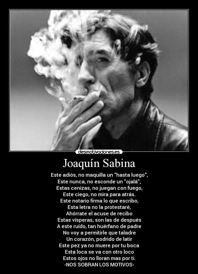 Sentires - Radio Online: Solo algunos videos de Joaquin Sabina