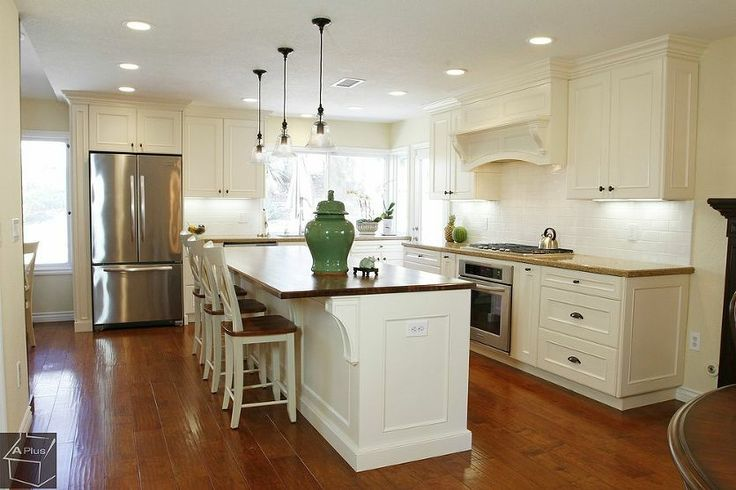 Complete kitchen remodel with custom cabinets for Complete kitchen cupboards