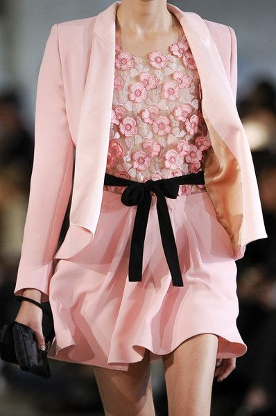 Pretty in Pink- Alexis Mabille at Paris Fashion Week Spring 2013