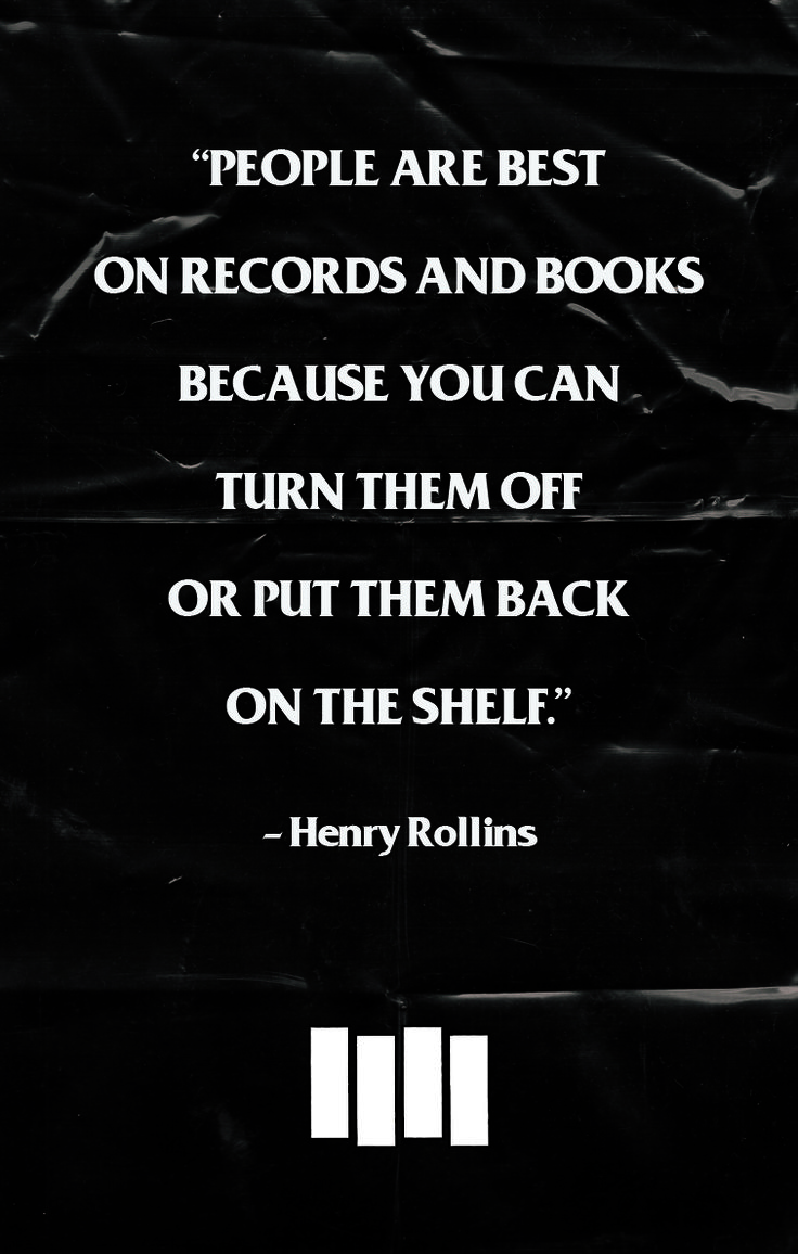 Henry Rollins Quotes Unique 38 Best Henry Rollins Quotes Images On Pinterest  Henry Rollins