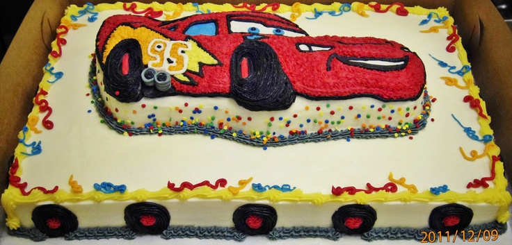 Cake Designs With Cars : 29 best images about Children s Birthday cakes on ...