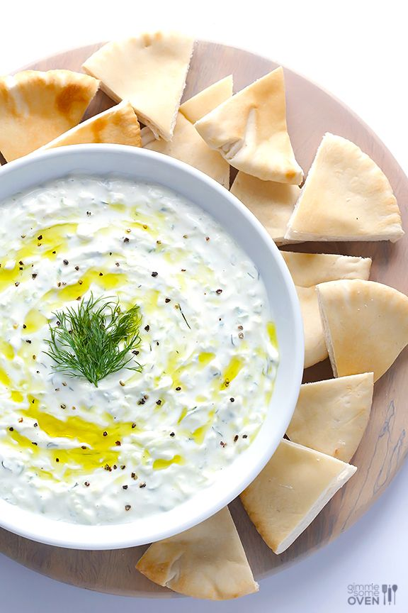 Tzatziki Sauce (for best results strain yogurt in cheese cloth and squeeze liquid out of cucumber )  2 cups full-fat plain Greek yogurt 4 garlic cloves, peeled and minced 1 large cucumber, seeded and grated (about 1 cup) 1 tablespoon chopped fresh dill 1-2 tablespoons fresh lemon juice 1 tablespoon olive oil 1/2 teaspoon sea salt 1/4 teaspoon black pepper