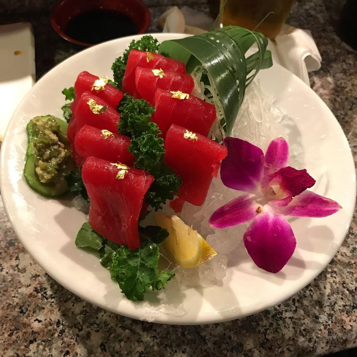 Tuna sashimi #sushi #food #foodporn #japanese #Japan #dinner #sashimi #yummy #foodie #lunch #yum