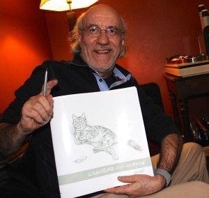 """Rencontre avec Derib pour les 40 ans de Yakari : """"Je ne suis pas prêt d'arrêter de dessiner"""" - http://www.ligneclaire.info/derib-salon-du-livre-paris-13263.html"""