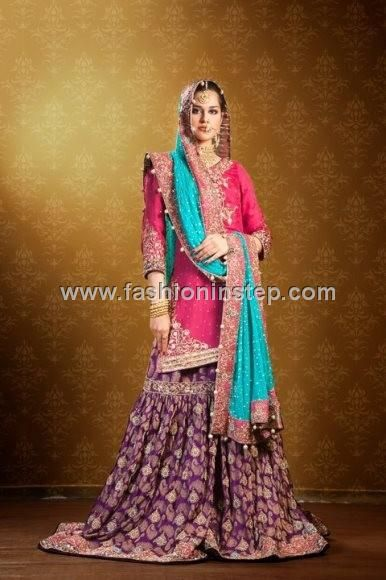 Latest Trends Of Bridal Dresses 2013 in Pakistan 011