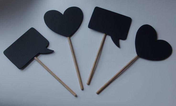 Tabliczki do wykorzystania do sesji fotograficznych Blackboards Photo prop