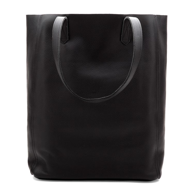 A bit longer and leaner than its classic counterpart, this tote boasts the same pebbled lightweight Italian leather and clean, modern silhouette. Drop in your laptop and you're ready for work. Add in a few essentials while you're at it and you can get away straight from the office. Who says you can't have it all?