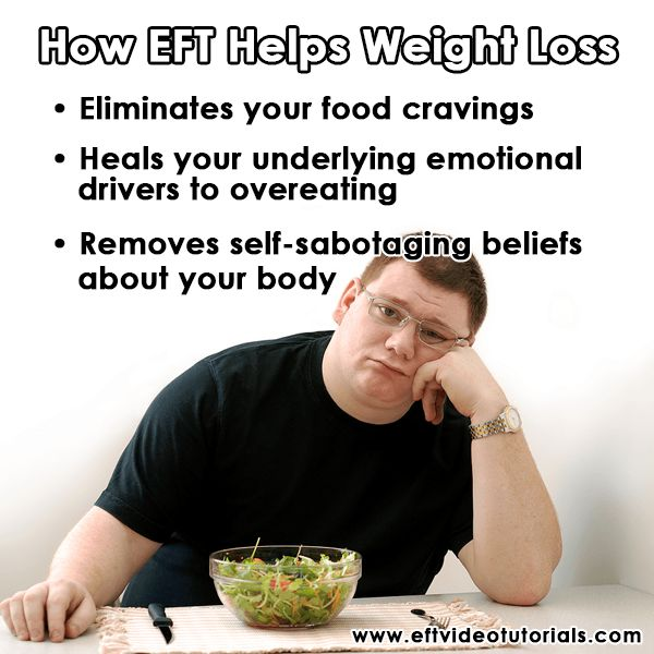 How EFT Helps Weight Loss