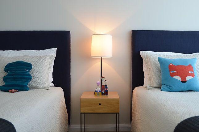 Circular Quay Harbour Apartment - Swan Studio Interior Design | childrens room kids cushions apartment bedroom