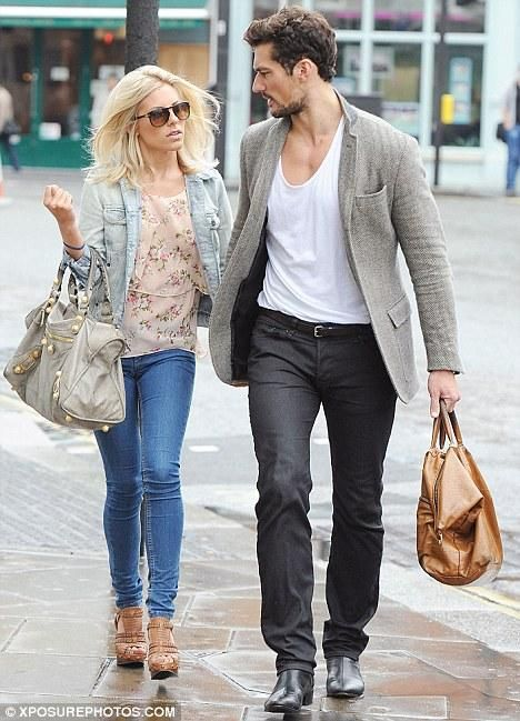 Mollie King & David Gandy