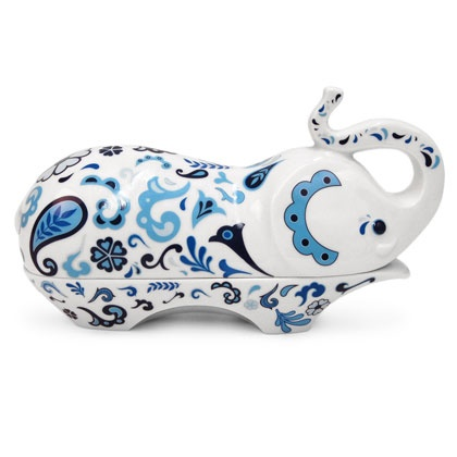 Jonathan Adler Elephant Butter Dish I want this!!!!