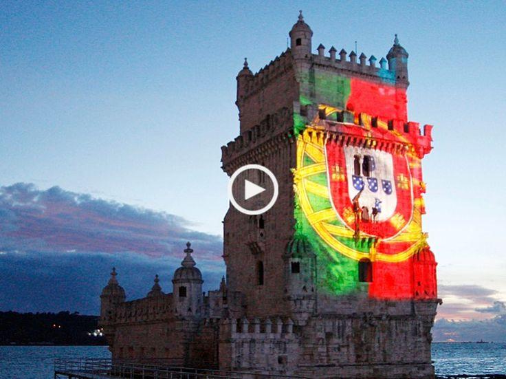 Arrepiante! Enorme símbolo, o nosso poderoso Hino e na sua versão integral. A Portuguesa, Hino Nacional de Portugal para orquestra, com soprano e coro!