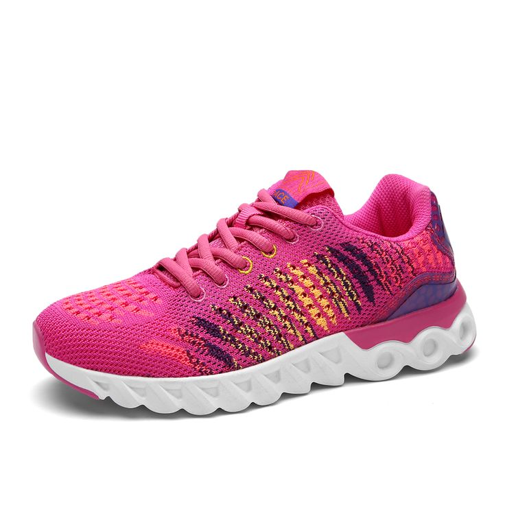 New Arrival Woman Running Shoes Breathable Mesh Women Brand Sports Shoes Super Light Lace-up Outdoor Women Athletic Sneakers
