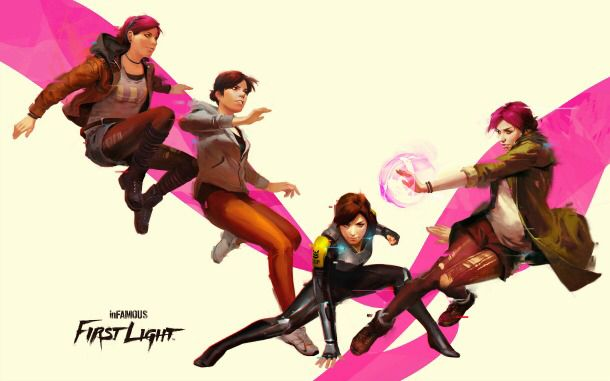 Many phases of Fetch in Infamous Second Son and Infamous First Light