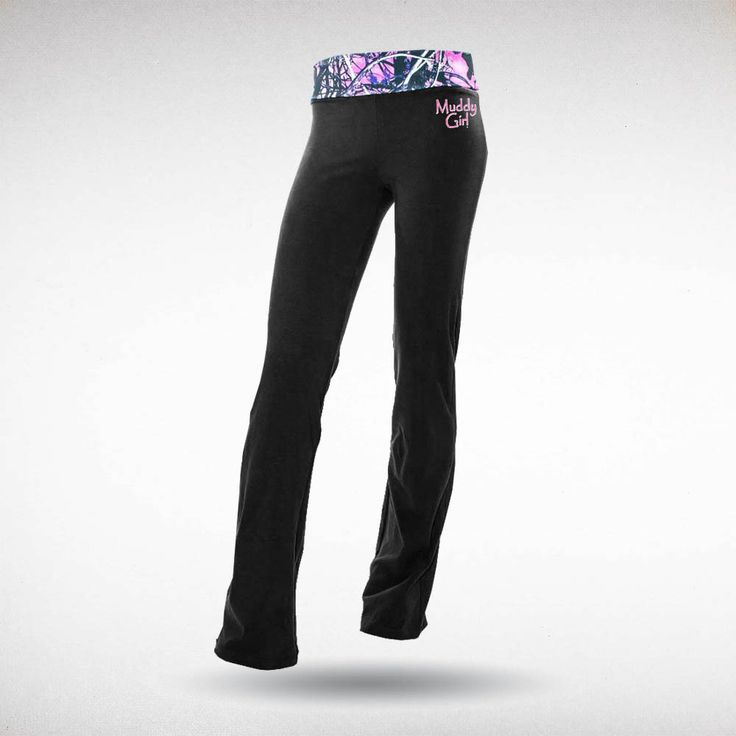Moon Shine Camo - Muddy Girl Camo | Women's Pink Camo Yoga Pants Black, $34.99 #yoga #muddygirl #pinkcamo #fitness