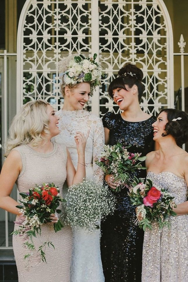 20 Mismatched Bridesmaid Dresses to inspire you