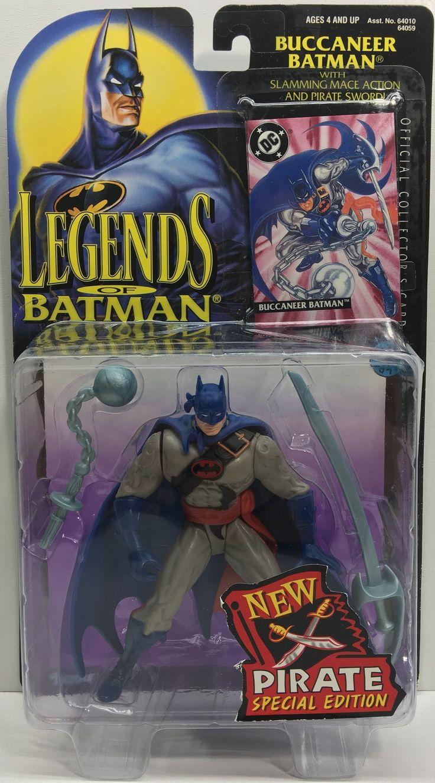 (TAS033142) - 1995 Kenner Legends Of Batman - Buccaneer Batman Action Figure