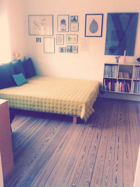 soveværelse i stuen