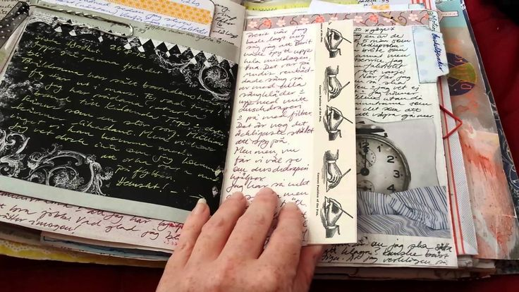 My junk and art journal