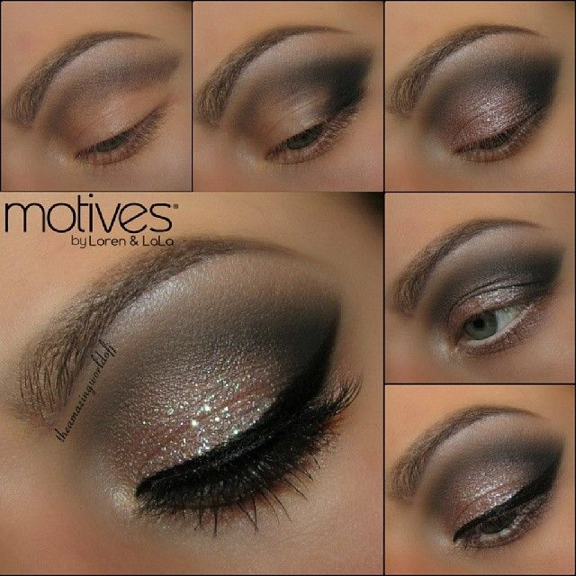 Looks like this New Years I will be spending at home again. Yay! LOL So I have decided to finally start sharing all the tutorials I still owe you!! And what would be better to start with than a nude Smokey eye with some ✨Sparkle✨ Used: @motivescosmetics  Products used: Bedroom Eyes, Pearl, Onyx, Cappuccino. Khol Eyeliner Angel, Eye Base, Gel Eyeliner Little Black Dress.  The touch of sparkle is the Cosmetic Glitter Icy Girl from @colouredraine Lashes are @houseoflashes Noir Fairy HAPPY NEW…