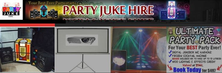 """The Slushie Machine Hire Brisbane is the best tool to add a new dimension to your next party. It is a powerful and large output machine that produces plenty of """"snow"""". With a built-in blower, the """"snow"""" can be spread over significant distance.  For More Information Visit: - http://partyjukehire.com.au/ultimate-party-pack/"""