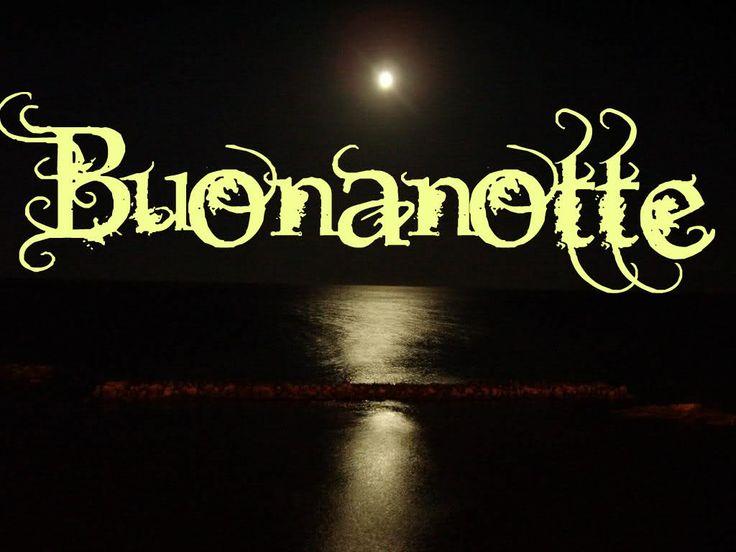 Спокойной ночи на итальянском языке в открытках, тихого приятного