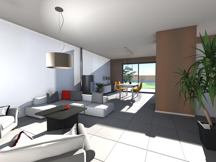 Décoration intérieure de la maison apollo nl3 une maison à étage avec une