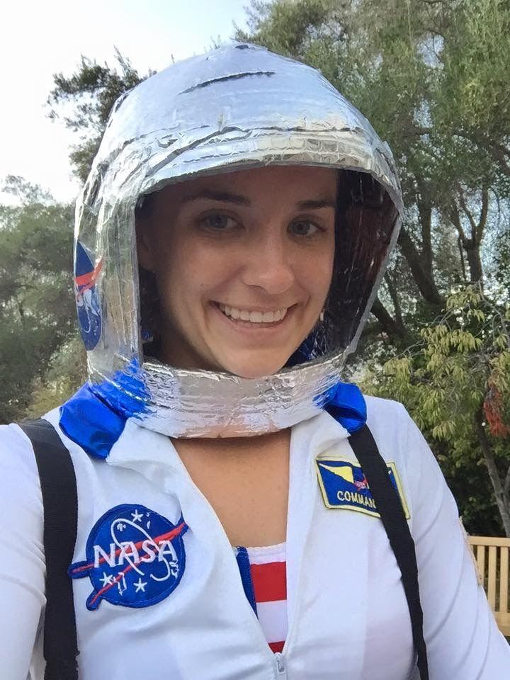 DIY Astronaut Helmet #DIY #Astronaut #NASA #SpaceShuttle # ...