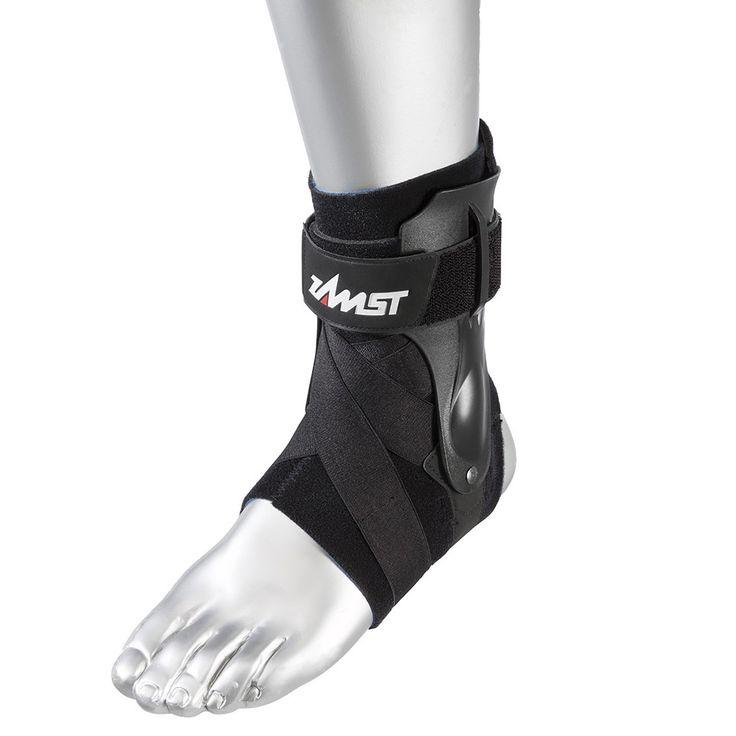 Zamst A2-DX Right Ankle Brace, Black, Medium