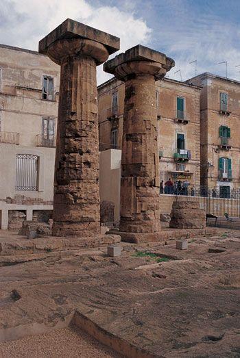 Taranto Old city