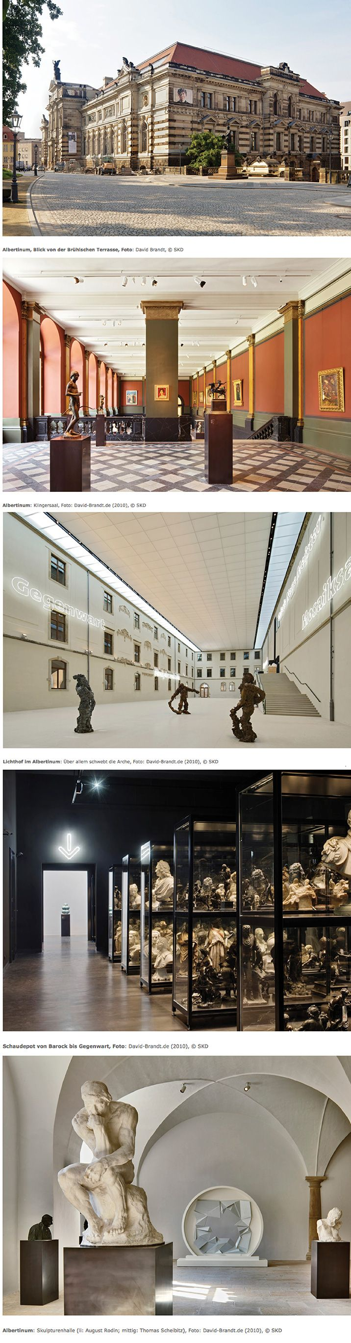 Highly Recommend the Albertinum Museum: Here are my 5 favorite official photos • Staatliche Kunstsammlung Dresden • Photos by David Brandt