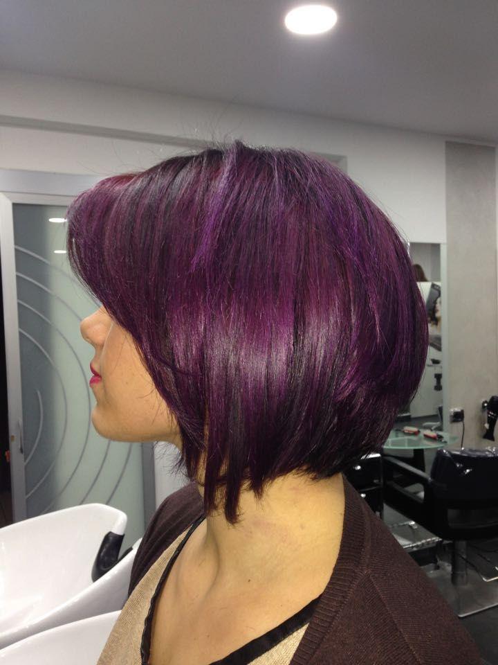 #violet #dèfile #farmacainternational #violethair #danilo #capelliviola #capelli #napoli #napoliinthehair #modelhair #dalcolorechehaialcolorechevuoi