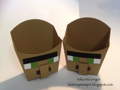 *LaLaLa ymcg crafting*: Minecraft boxes