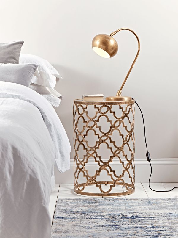 NEW Maroq Bedside Table