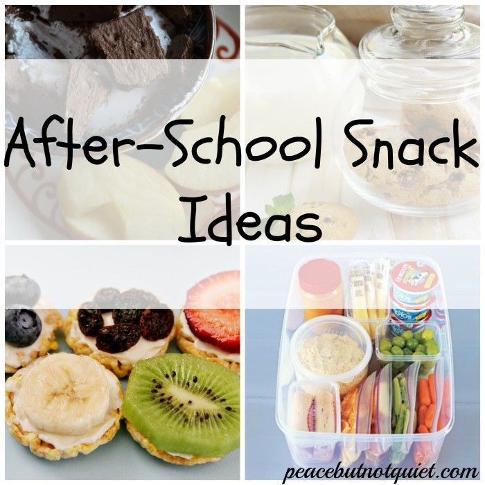10 Easy, Healthy, Thrifty Afternoon Snack Ideas for Kids!