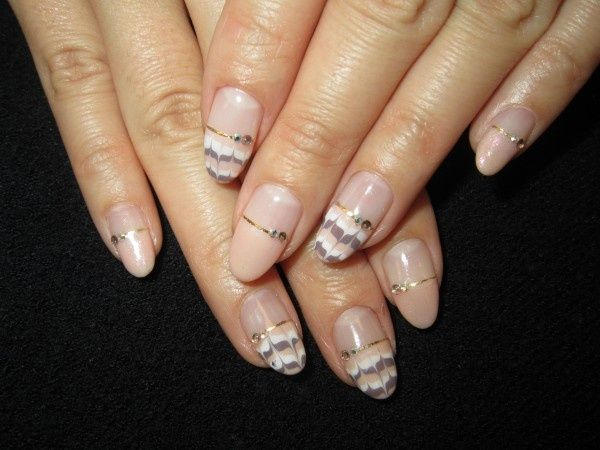 Idee per french gel unghie colorate e glam - Fotogallery Donnaclick